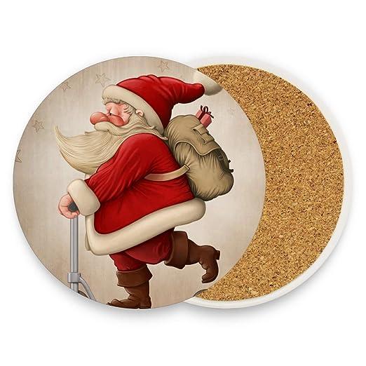 DEZIRO Santa Claus y el patinete de empuje multiusos para ...