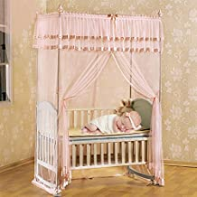 SJQKA-Mongolia wrapped mosquito nets, baby bed baby mosquito nets, children bed with a stent, landing Mongolia small mosquito net cover,