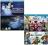 Cinderella - Alice in Wonderland - Walt Disney 4 Movie Bundling Blu-ray