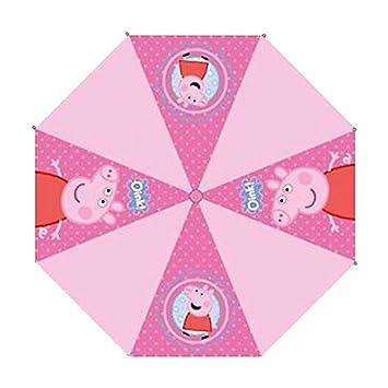 Paraguas Peppa Pig automatico 46cm