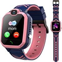 LTAIN Kids Smart Watch Waterproof Smartwatch GPS SOS Camera Timer