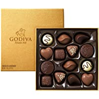 GODIVA 歌帝梵 金装巧克力礼盒14颗装(比利时进口)