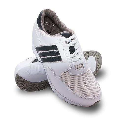 Deportivos para Alzas con Interiores de Hombres ZERIMAR Hombre cm Aumento con Zapatos Zapatos 8 FAUqRR