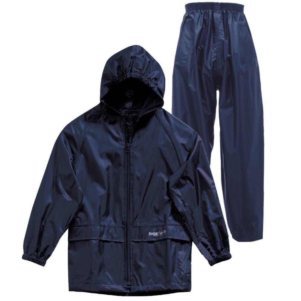 4032d8085 Regatta Kids Waterproof Jacket   Trousers Suit Boys Girls  Amazon.co ...