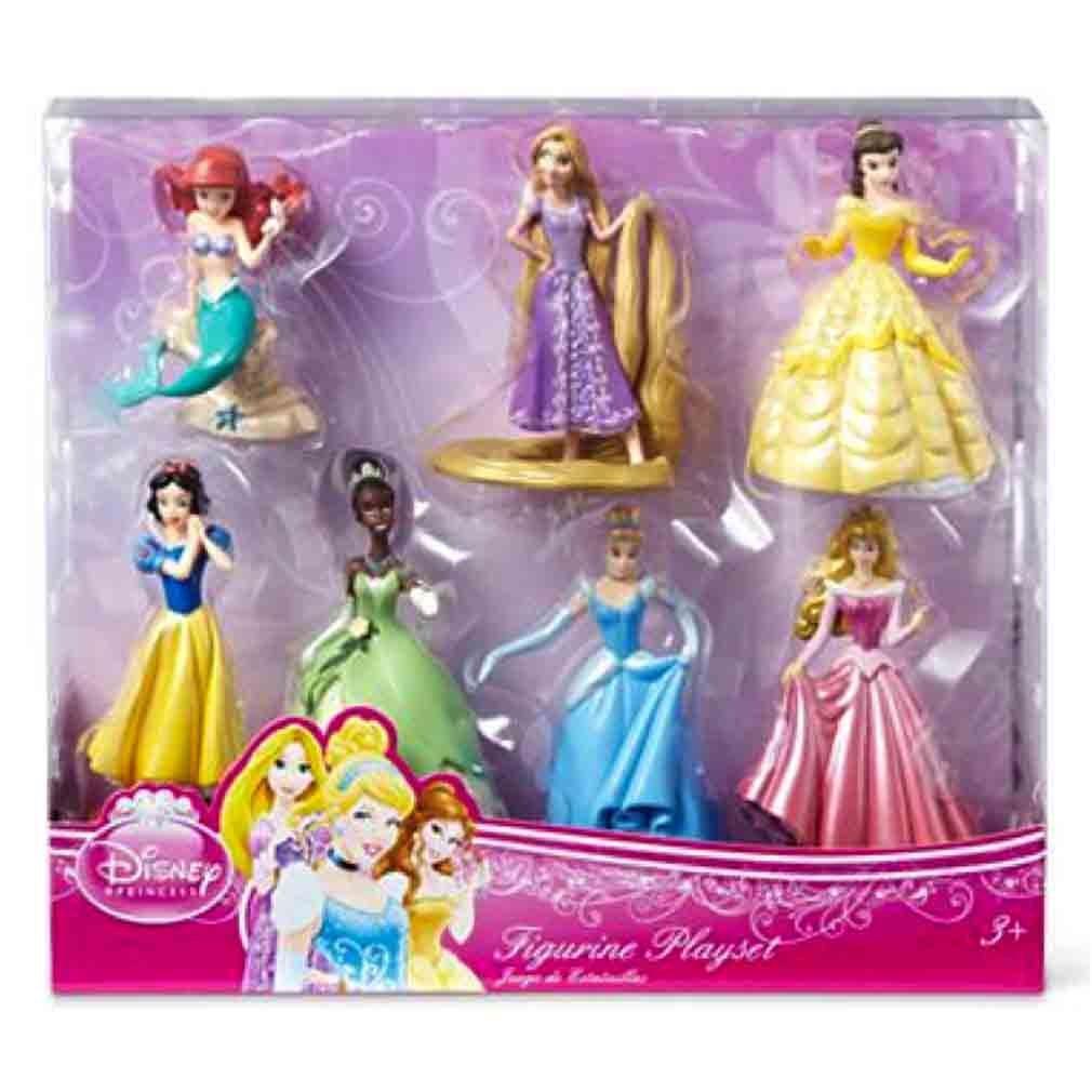 Disney Princess Figures 4-pack Cinderella Snow White Sleeping Beauty Belle New