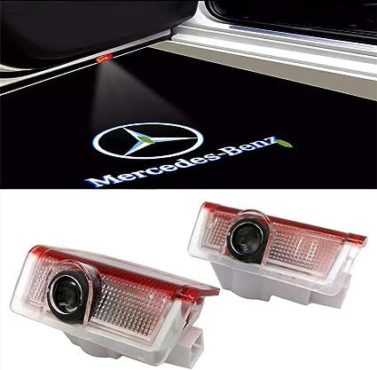 GEEANDLY 2 piezas logotipo Proyector de Puerta de Coche proyector ...