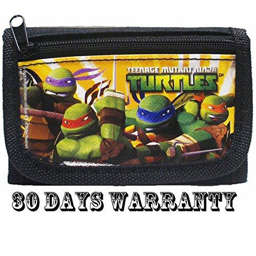 Ninja Turtles Black Trifold -