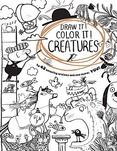 Draw It! Color It! Creatures