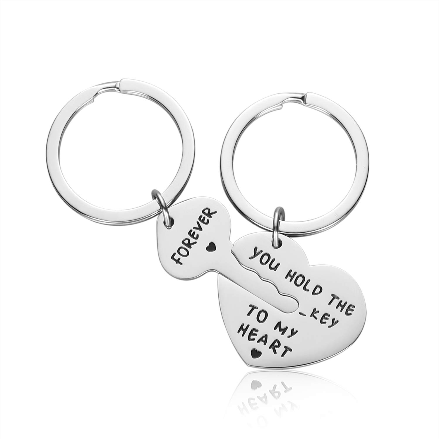 302e63091c Couple Gifts for Boyfriend and Girlfriend - You Hold The Key to My Heart  Couple Keychain for Him and Her, Valentine's Day Birthday Gifts for  Boyfriend ...