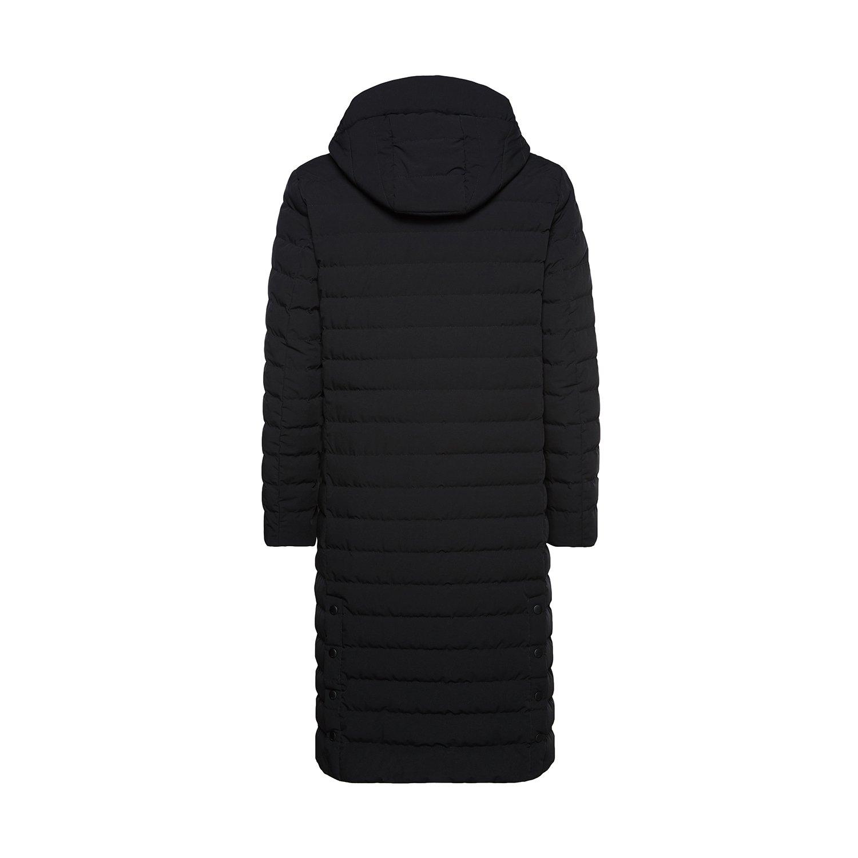 BOSIDENG Men's Winter Goose Down Jacket Light Warm Hooded Long Smart Casual Business Outerwear(185/100A 8056) by BOSIDENG (Image #2)