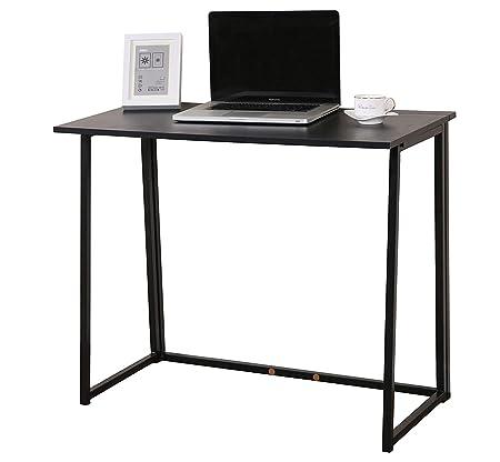 BOJU Mesa de Escritorio de Ordenador compacta y Plegable, Color ...