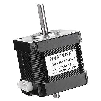 Pannow 17HS4401S-D150S Motor paso a paso de 48 mm Nema 17 42 Motor ...