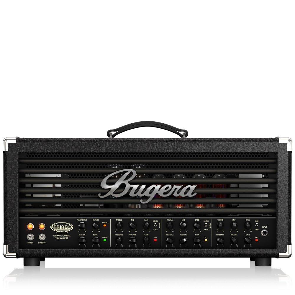 Bugera TRIREC INFINIUM Vollröhren E-Gitarren Topteil: Amazon.de ...