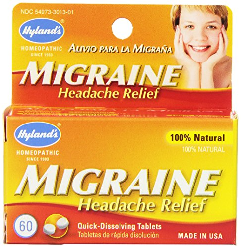 Hylands Migraine Headache Tablets Natural product image