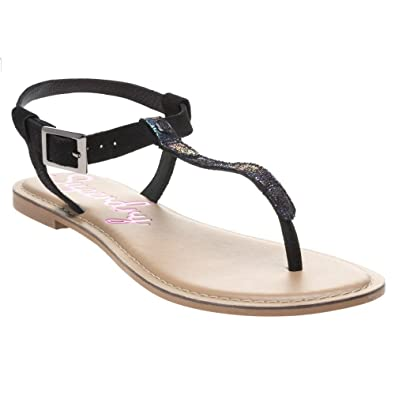 fdc194e9f Superdry Bondi Thong Sandals Black  Amazon.co.uk  Shoes   Bags