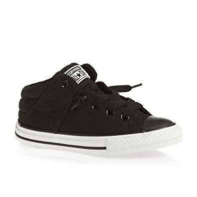 Converse CT Axel Mid Black Youths Trainers -