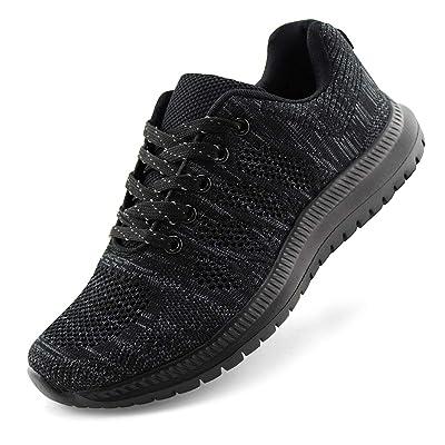 JABASIC Women Lightweight Knit Running Shoes Athletic Walking Sneakers | Road Running