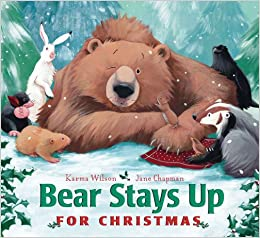Image result for bear stays up for christmas