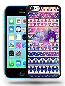 Aztec Tribal Space Elephant Hipster Pattern Phone Case Cover Designs for iPhone 5C hjbrhga1544