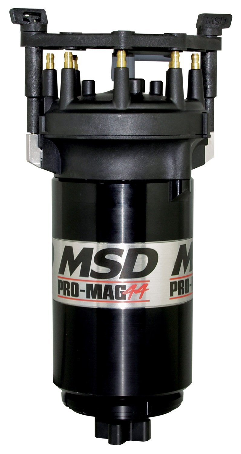 MSD IGNITION 81307 Black Pro Mag Counter Clockwise (w/Big Cap) by MSD Ignition
