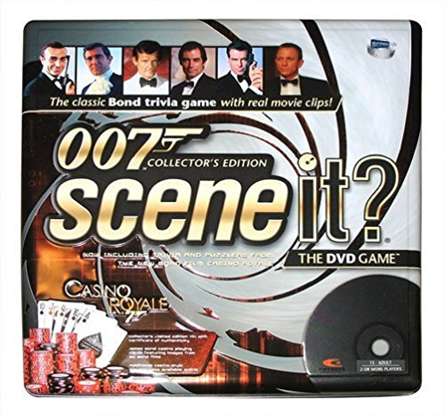 Scene It? - 007 Collector's Edition / Tin Case - James Bond Trivia DVD Game