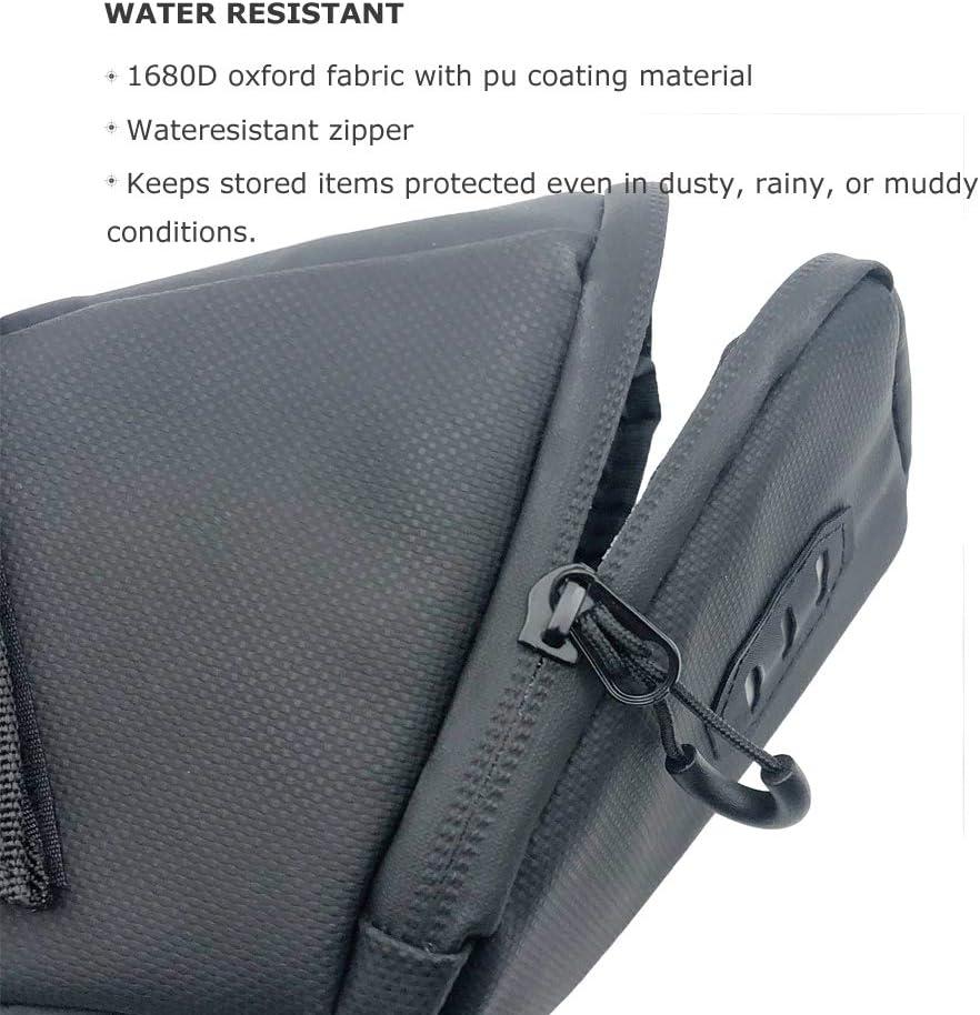 v/élo tout terrain Beeway/® Sac de rangement pour selle de v/élo r/ésistant /à leau