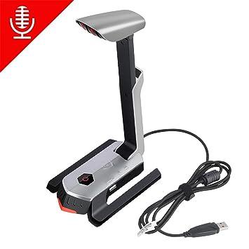 Podcast micrófono de karaoke juegos para ordenador PC portátil de grabación profesional Audio Música Micrófono plateado plata: Amazon.es: Electrónica