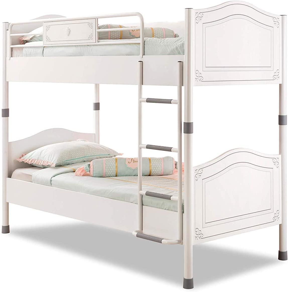 Dafnedesign Com Bunk Bed Or Baby Girl S Room It Goes To A Room Is Modern And Elegant Design A Bunk Bed With Headboards And Tastefully Decorated Bar Can Be