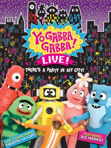 Amazon Com Yo Gabba Gabba Live There S A Party In My