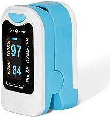 Contec OLED CMS50NA Oximetro de Pulso Monitor de Oxigenación Sanguínea SpO2