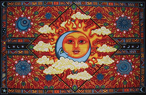 Morris Cotton Tapestry - Dan Morris Celestial Harmony Cotton Tapestry 86