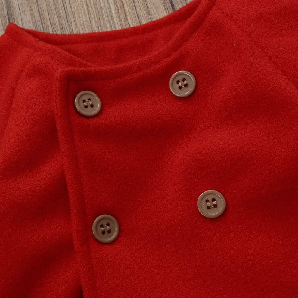 0b28cf91f Kobay Baby Girls Coat Tops Autumn Winter Girls Kids Baby Outwear ...