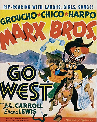 Go West Movie Poster or Canvas