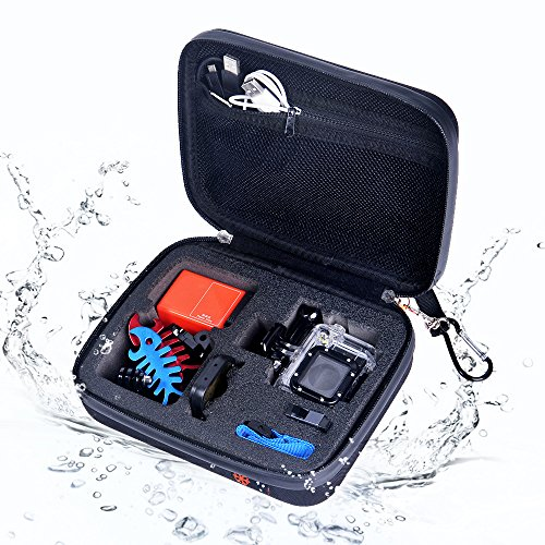 SHINEDA Medium Water Resistant Case for GoPro Hero 4, Hero 3