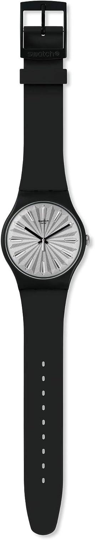 Swatch Reloj Analógico para Mujer de Cuarzo Suizo con Correa en Silicona SUOB172
