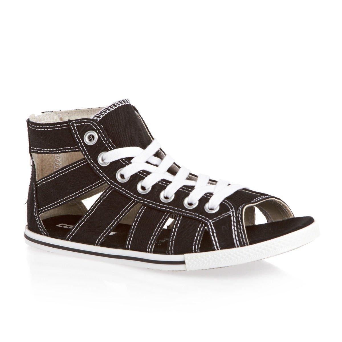 Converse Gladiator Mid Sandals, Black, 3 UK Adult: Amazon