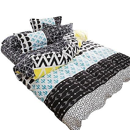Exceptional YOUSA Cactus Print Bedding Set Teens Bedding 3Pcs Duvet Cover Set(1 Duvet  Cover +