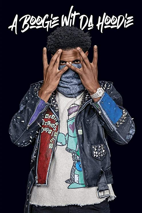 cinemaflix a boogie wit da hoodie poster 24x36 inches