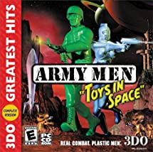 Amazon Com Army Men Toys In Space Jewel Case Pc Video