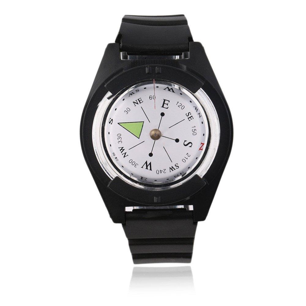 Tactical Wrist Compasses Military Outdoor Strap Band Bracelet nikstoreinus