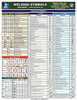 Welding Symbols Quick Card (1889892742) | Amazon Products