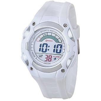 Montre concept MR8528-BLANC - Reloj de pulsera mujer, plástico, color blanco: Amazon.es: Relojes