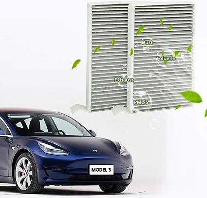 Amazon.com: WJM - Filtro de aire para cabina de coche con ...