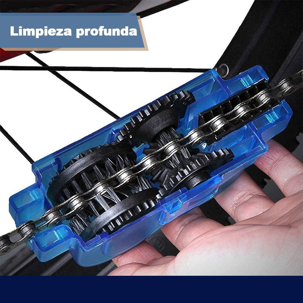 ALISTAR Limpiador de Cadena de Bicicleta, Accesorios de Lavador ...