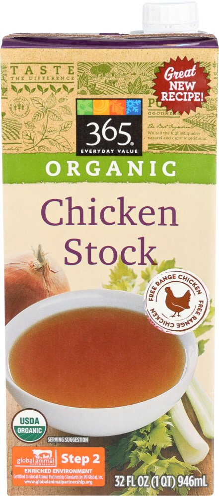 365 Everyday Value, Organic Chicken Stock, 32 oz