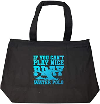 Amazon.com: Funny Sport Fashion Zip Tote Bag - If You Can