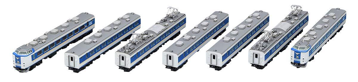 TOMIX Nゲージ 485系 特急電車 しらさぎ  新塗装 セットB 7両 98651 鉄道模型 電車 B07DPM68WW