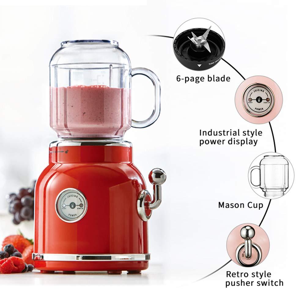 DZSF 220 V Retro Licuadora Eléctrica Exprimidor Juicer Fruta ...
