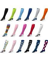 Go2 Compression Socks for Women and Men Athletic Running Socks for Nurses Medical Graduated Nursing Compression Socks for Travel Running Sports Socks!!
