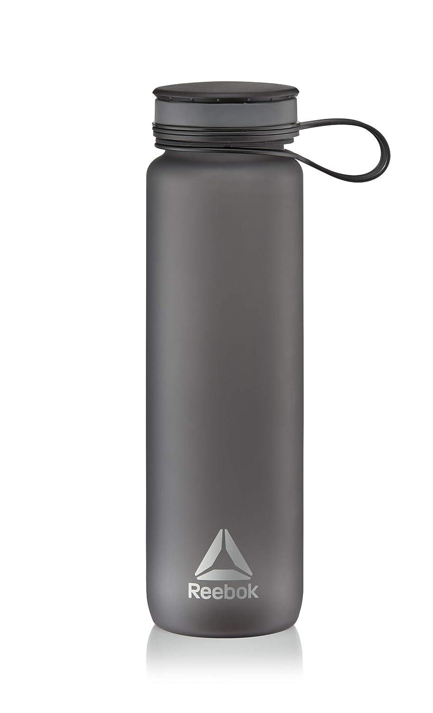 Reebok RABT-14001GR Bottiglia d'Acqua, Grigio, 7.8 x 7.8 x 26.8 cm RFE International